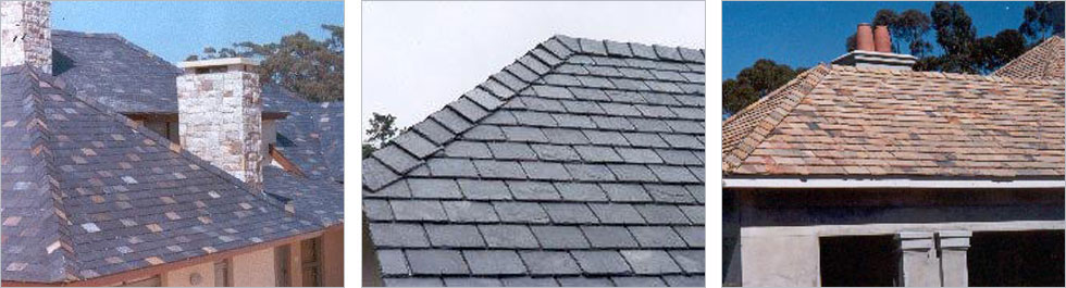 HP Plum - natural slate roofing